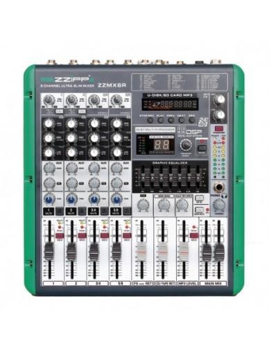Monacor Monacor MX6R con registratore