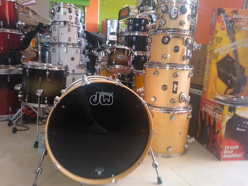 DW Drums Performance Laquer 2014 NATURAL Maple