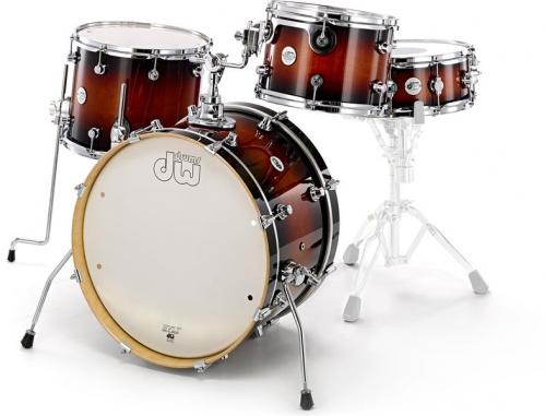 DW Drums DESIGN FREQUENT FLYER TOBACCO BURST
