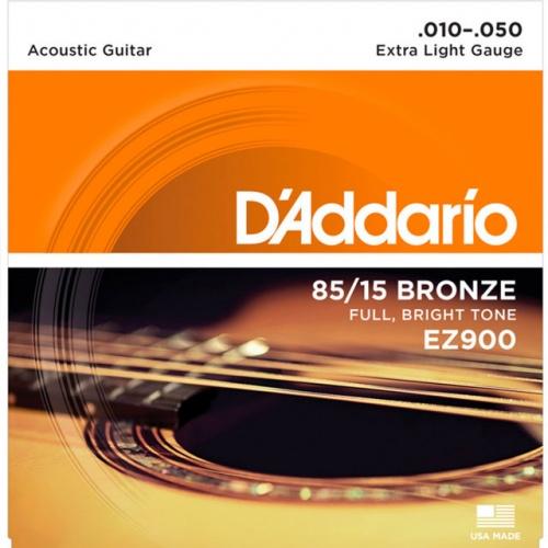 DADDARIO EZ900 Great American Bronze – Extra-Light (10-50)