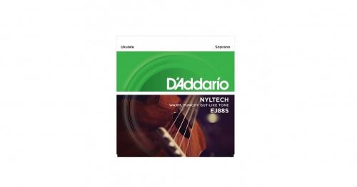 DADDARIO EJ88S Nyltech Ukulele Strings, Sopran