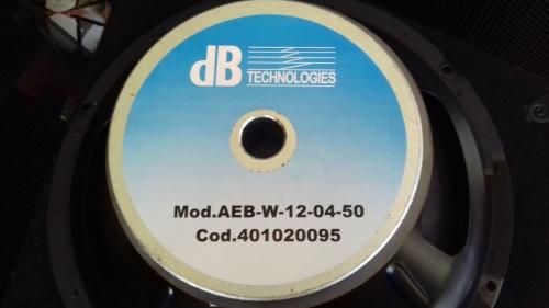 DB Technologies woofer AEB:W-12-04-50