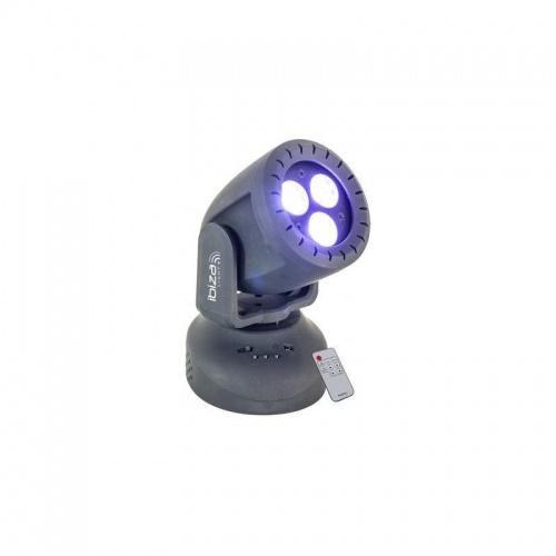 Beamz Mini Moving Head Wash 3x 8W RGBW 4-in-1